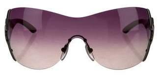 Bvlgari Oversize Shield Sunglasses