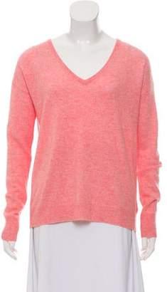 White + Warren Cashmere V-Neck Sweater
