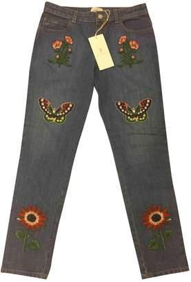 Gucci Blue Denim - Jeans Trousers