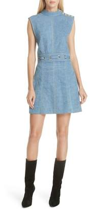 Veronica Beard Nico Denim Minidress