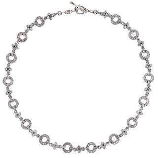 Judith Ripka 18K Diamond Choker Necklace