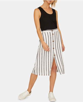 Sanctuary Mabel Striped Midi Skirt