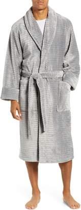 Daniel Buchler Herringbone Jacquard Robe