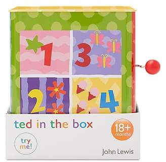 John Lewis Teddy Jack In The Box