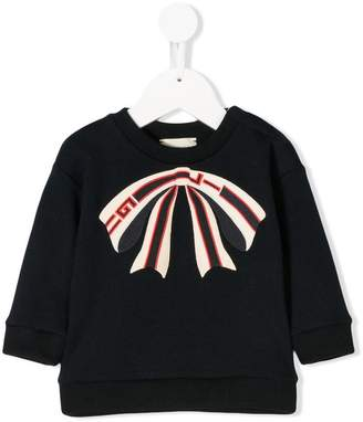 Gucci Kids Baby bow sweatshirt