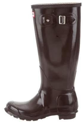Hunter Rubber Knee-High Rain Boots Rubber Knee-High Rain Boots