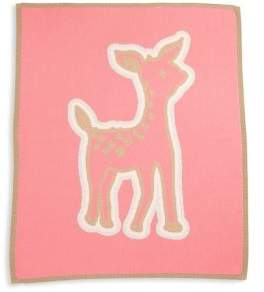 Lucky Jade Baby's Cotton& Cashmere Fawn Blanket