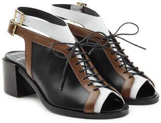Pierre Hardy Colorblock Open Toe Sandals
