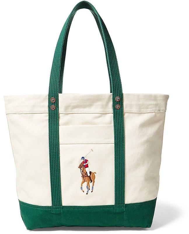 Polo Ralph LaurenPolo Ralph Lauren Big Pony Multicolor Tote Bag
