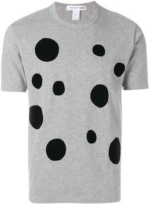 Comme des Garcons dot print short-sleeve T-shirt