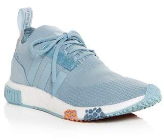 adidas Women's NMD Racer Knit Lace Up Sneakers