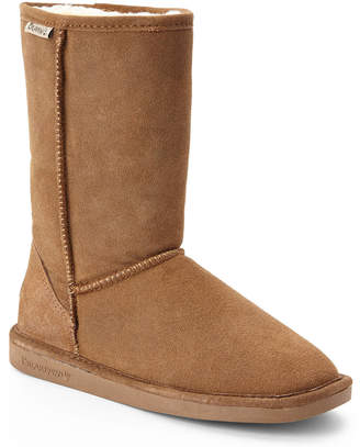 BearPaw Tan Eva Suede Boots