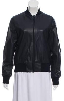 Scanlan Theodore Leather Bomber Jacket