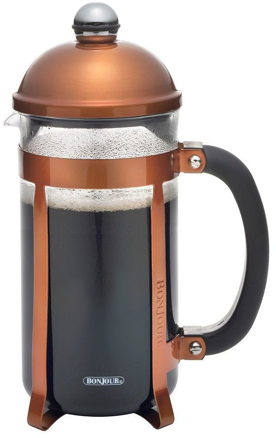 BonJour Maximus Metallic 8-Cup French Press