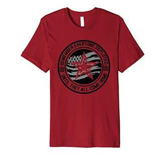 Remember Everyone Deployed - American Flag Friday Premium T-Shirt