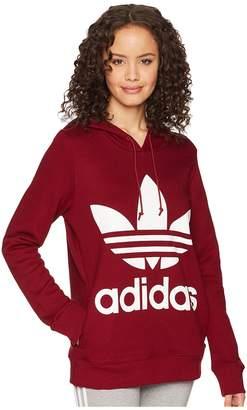 adidas Trefoil Hoodie Women's Long Sleeve Pullover