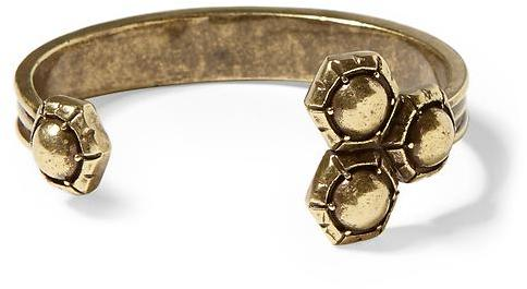 Giles & Brother Triple Hex Cuff Bracelet