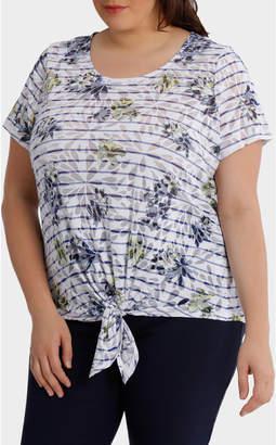 9079be7a38 White Tie Front Shirt - ShopStyle Australia