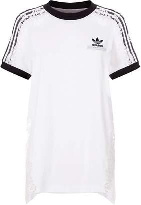 Stella McCartney Adidas By Sheer Lace T-shirt