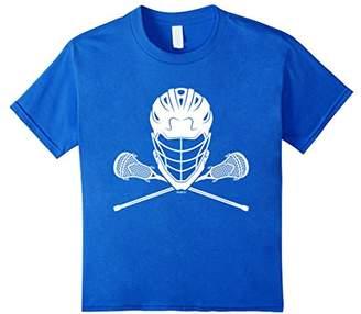 LaCrosse Helmet and Sticks T-Shirt