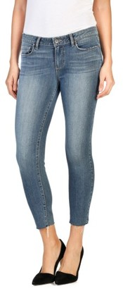 Women's Paige Verdugo Raw Crop Ultra Skinny Jeans $199 thestylecure.com