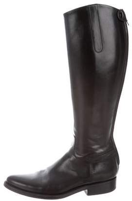 Alberto Fasciani Leather Knee-High Boots