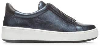 Donald J Pliner CHARLEY, Metallic Leather Slip-On Sneaker