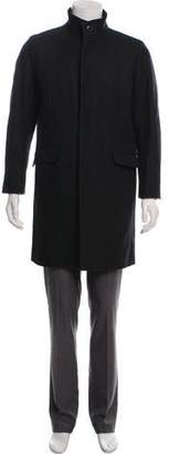 Theory Felted Wool Overcoat