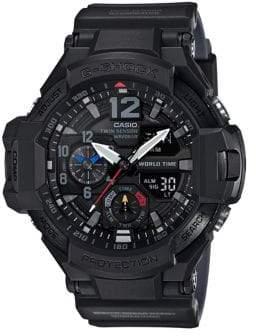 Casio Mens Analog G Shock Aviator GA1100 Watch