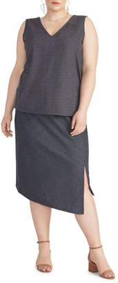 Rachel Roy Plus Emmy Asymmetrical Skirt