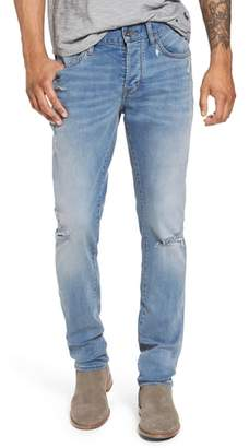John Varvatos Wight Slim Fit Straight Leg Jeans
