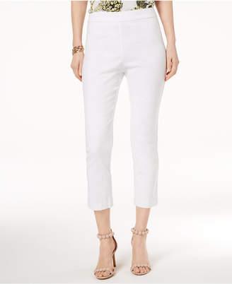 INC International Concepts I.n.c. Petite Ruffle-Back Capri Pants, Created for Macy's