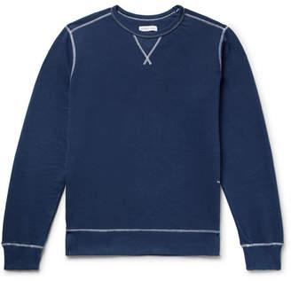 Pop Trading Company Logo-Print Fleece-Back Cotton-Jersey Sweatshirt