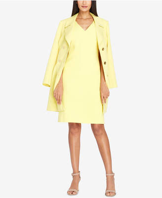 Tahari ASL Double-Breasted Trench Coat