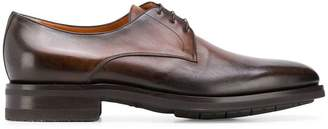 Santoni faded Derby shoes