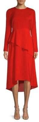 Maje Overlay A-Line Dress