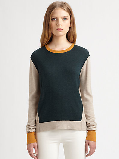 The Row Kent Multi-Knit Sweater