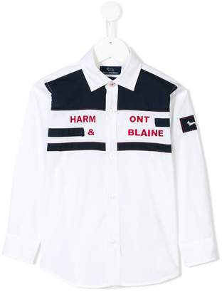 Harmont & Blaine Junior colour block shirt