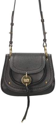 See by Chloe Susie Small Black Leather Shoulder Bag