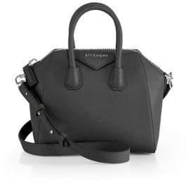 Givenchy Antigona Mini Glazed Leather Satchel