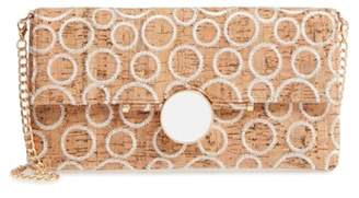 Sondra Roberts Embroidered Clutch