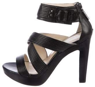 Calvin Klein Multi-Strap Platform Sandals
