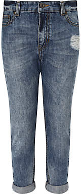 John Lewis & Partners Girls' Jeans, Blue