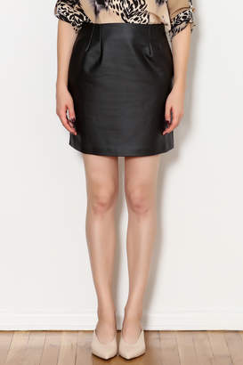 Gentle Fawn Arianne Vegan Leather Skirt