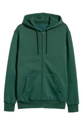 H&M Hooded Jacket - Gray melange - Men