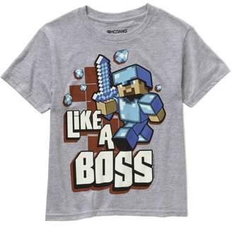 Minecraft Boss Boys Graphic Tee