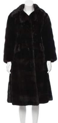 Long Mink Fur Coat