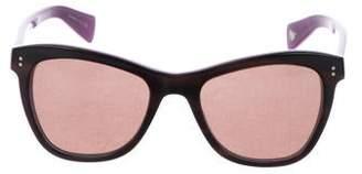 Paul Smith Square Tinted Sunglasses