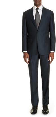 Emporio Armani G-Line Trim Fit Solid Wool Suit