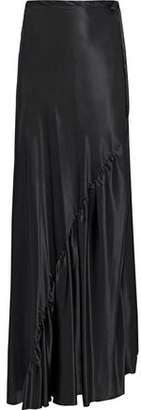 Ann Demeulemeester Silk-Satin Maxi Skirt